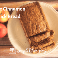 Sprouted Apple Cinnamon Bread
