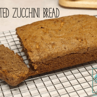 Sprouted Zucchini Bread