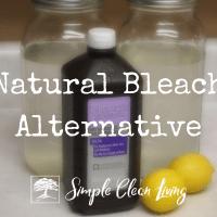 Natural Bleach Alternative