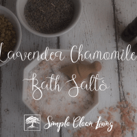 Lavender Chamomile Bath Salts