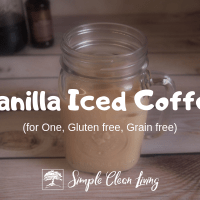 Vanilla Iced Coffee (Recipes for One)
