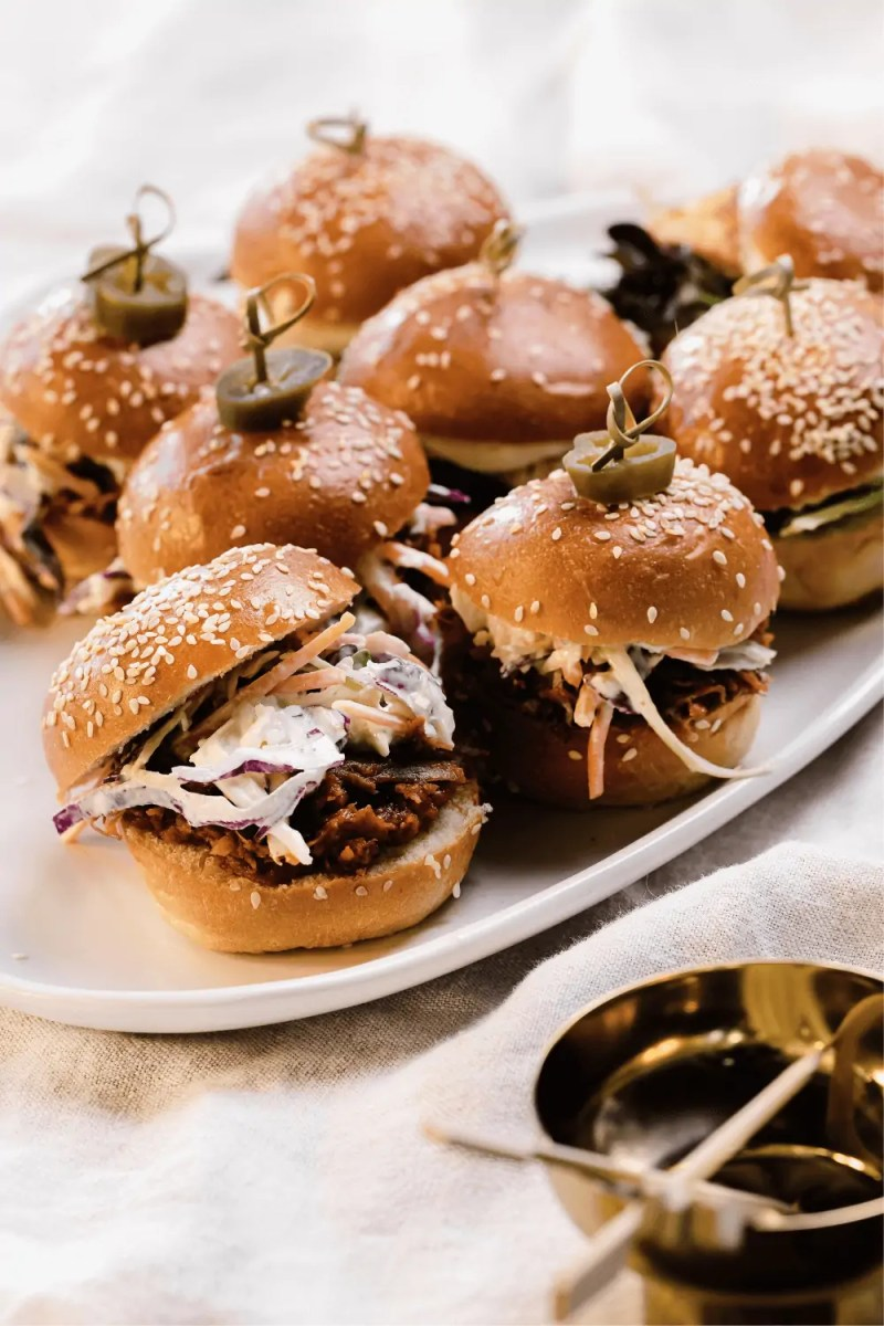 Tacos, Sliders and Sides Platter catering gold coast private