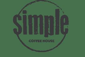 simple coffee house logo