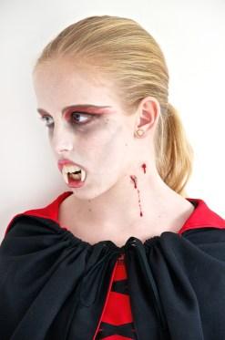 Scary vampire girl