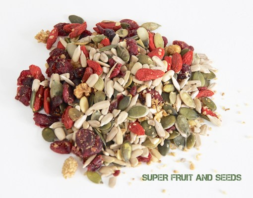 Super fruit and seeds