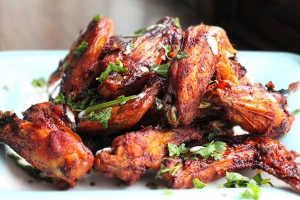 Al Pastor Chicken Wings