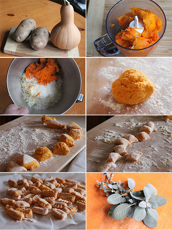 How to make butternut squash gnocchi with browned butter sage sauce