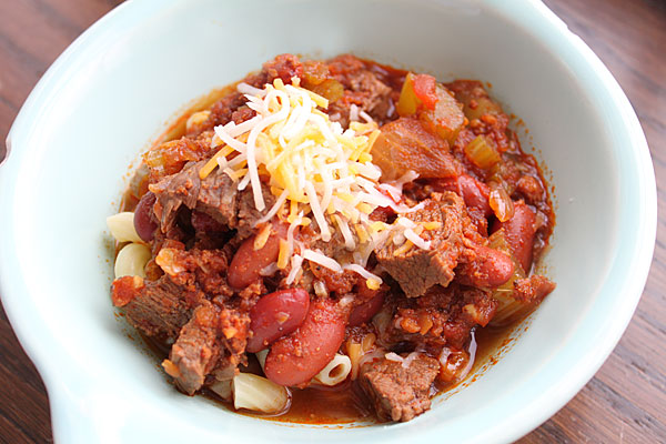 Chorizo Chili Recipe