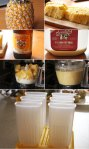 How to make pineapple cream popsicles