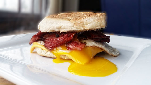 Corned Beef McMuffin