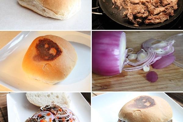 Filipino Adobo Sandwich