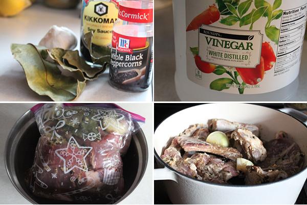 Filipino Pork Ribs Adobo Ingredients