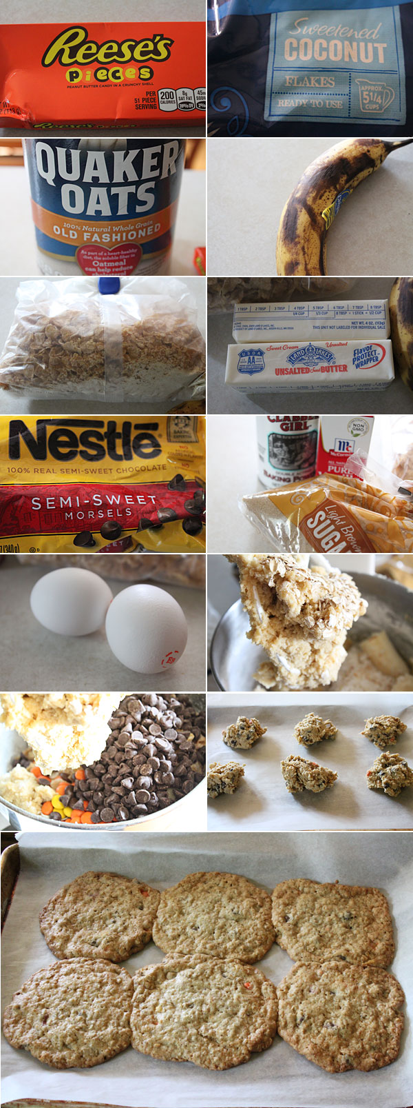 How to make Ranger Cookies