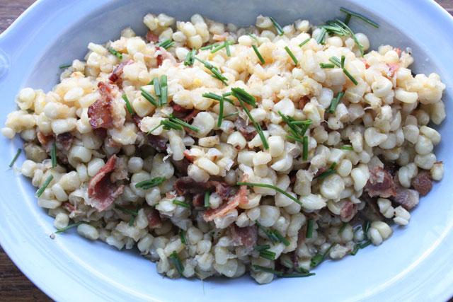 Bacon Fried Corn Recipe
