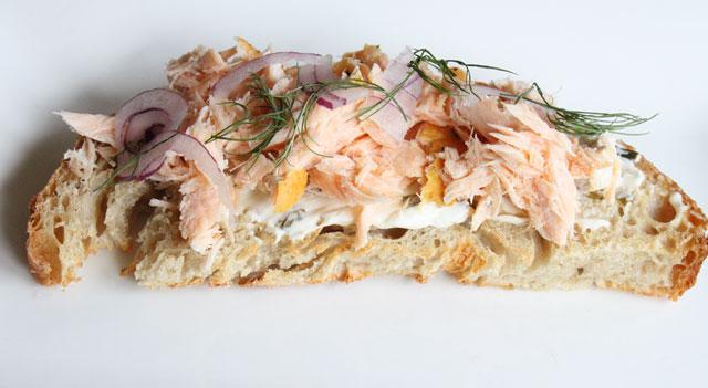 Salmon Crostini Recipe