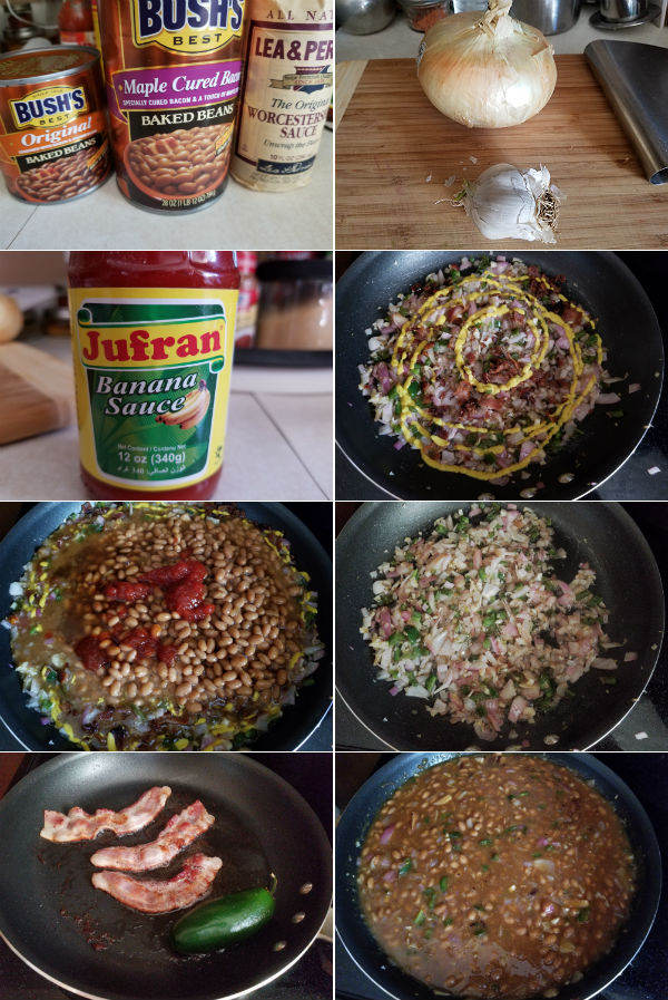 Easy Baked Beans Ingredients
