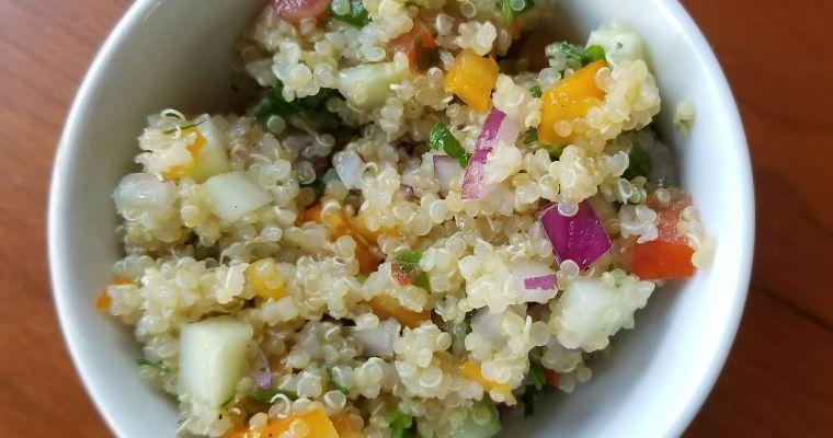 Fresh Garden Quinoa Salad