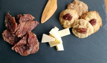 Pork Loin Jerky Recipe and a Holiday Slate Cheese Board