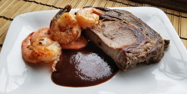 Cranberry Steak and Seafood Sauce