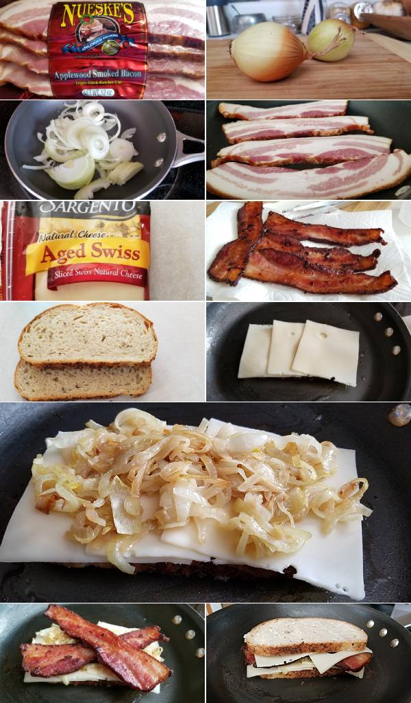 Bacon Patty Melt Ingredients