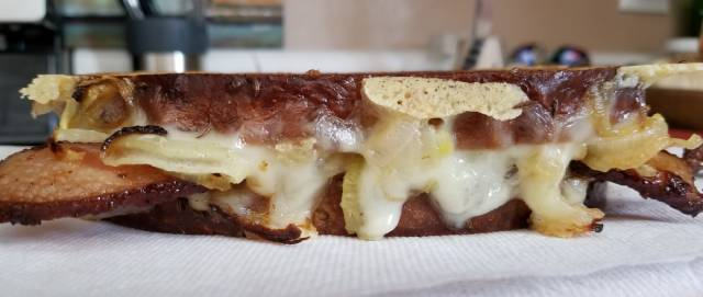 Bacon Patty Melt Recipe