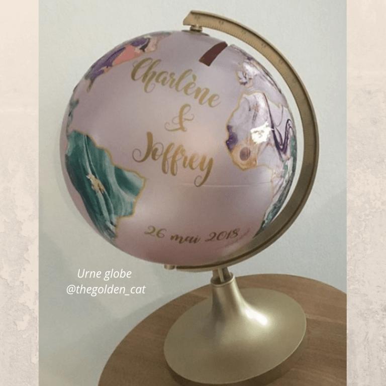 Urne globe @thegolden_cat