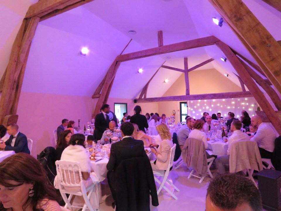 La salle - Mariage champêtre romantique