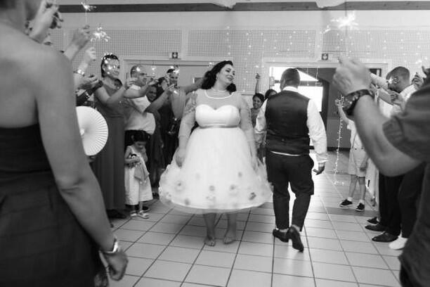 L'entrée des mariée - Mariage féerique