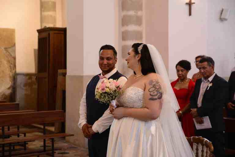 Mariage religieux - Mariage romantique
