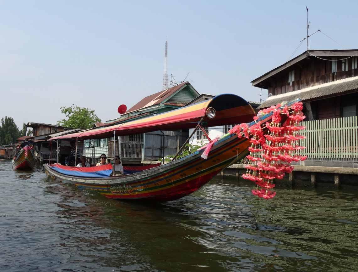 pirogue de bangkok thailande