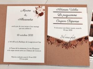 DIY faire-part mariage