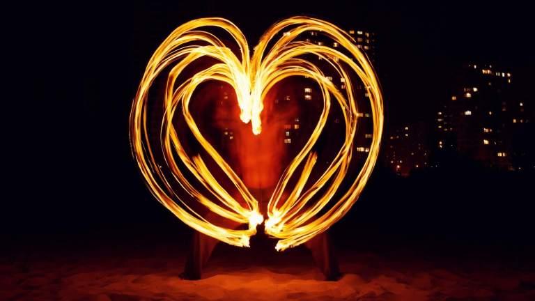 animations insolites mariage - spectacle feu et lumière