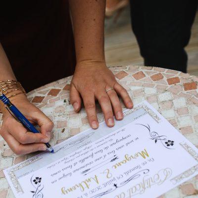 certificat de cérémonie laïque oui do it