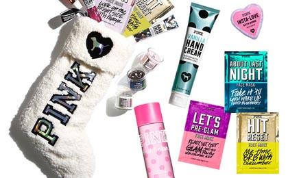 FREE Victorias Secret PINK Sherpa Stocking 25 Value