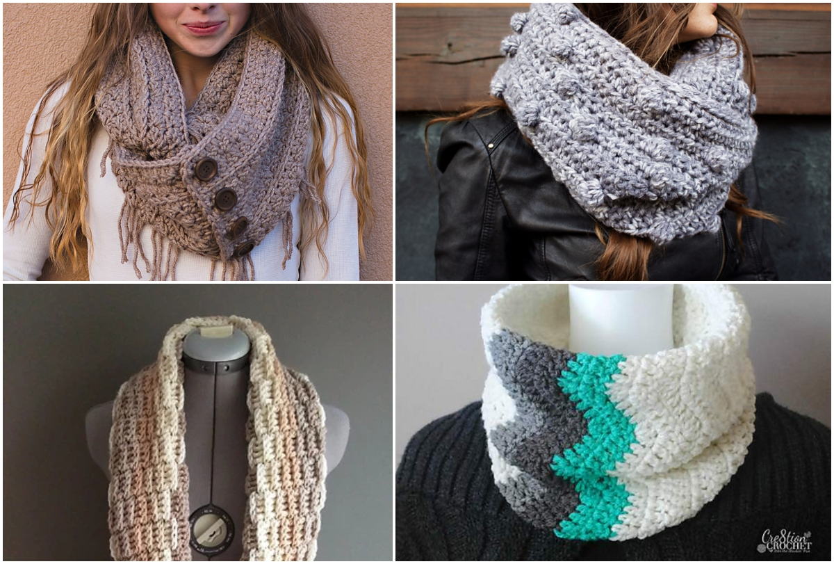 Easy Free Crochet Scarf Patterns And Ideas