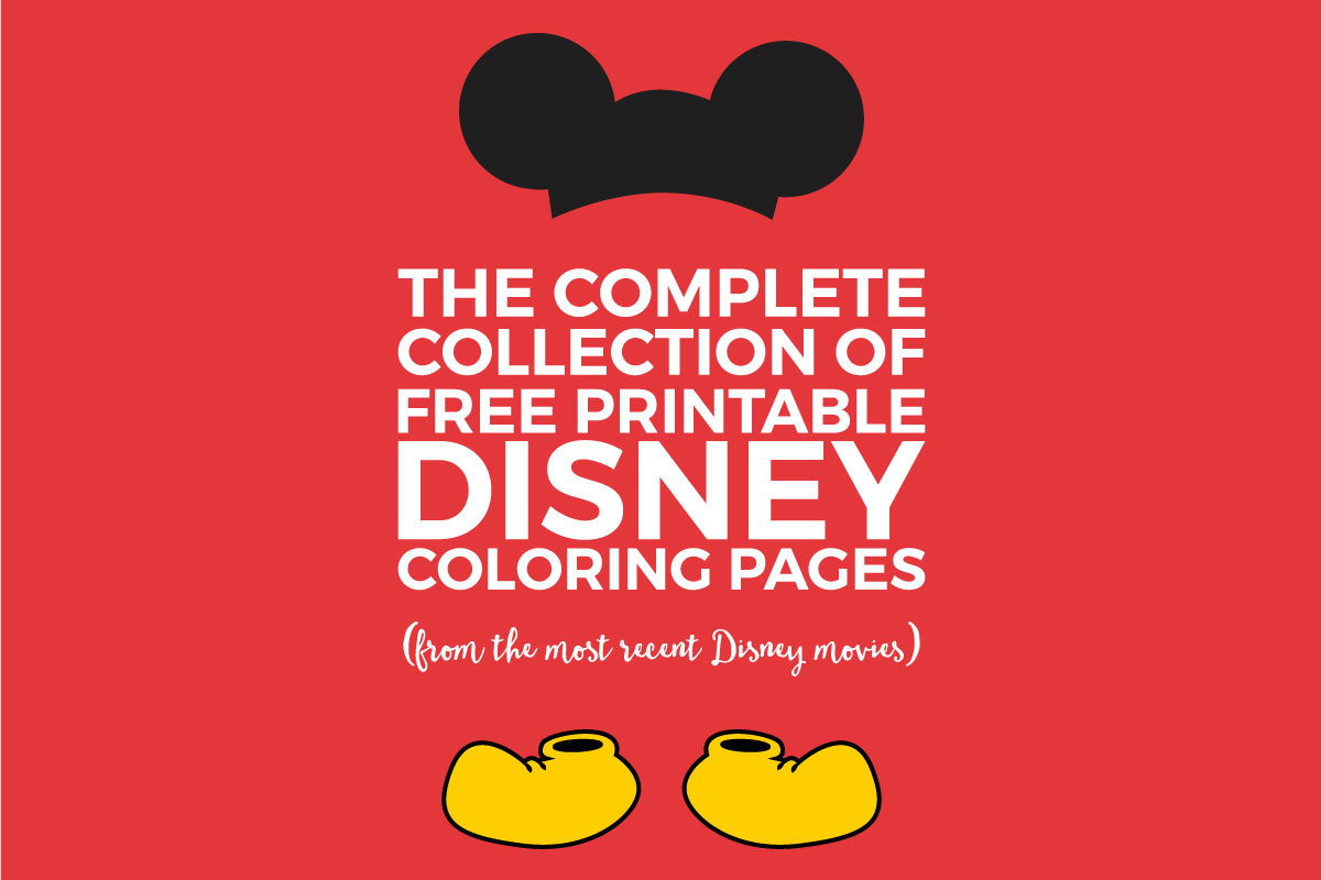 The Best Collection Of Free Disney Coloring Pages