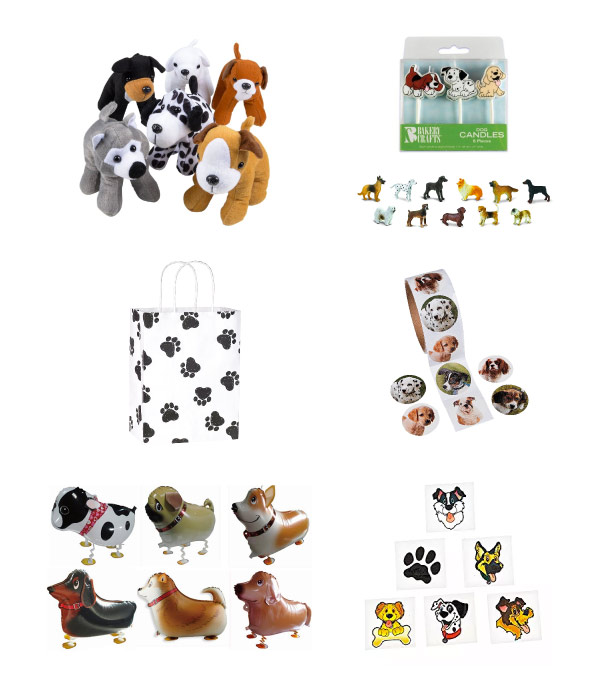 puppy party theme free printable pack