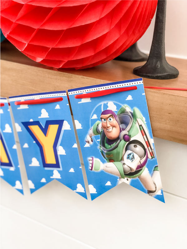 simple diy toy story 4 birthday party