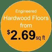 prices on Portland engineered hardwood floors