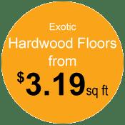 prices on Portland exotic hardwood floors