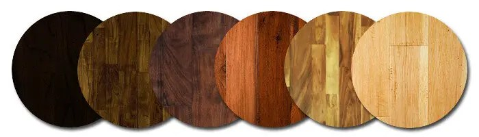 Exotic Hardwood Floors Samples