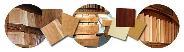 Our Portland custom wood cabinets, closets and shelving