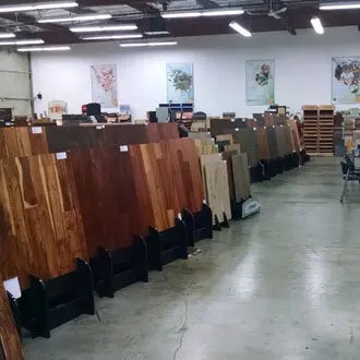Hardwood Flooring Samples boards are available to take home from our Portland showroom