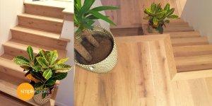 Oak Carmel Marina Engineered Hardwood Floors Stairs