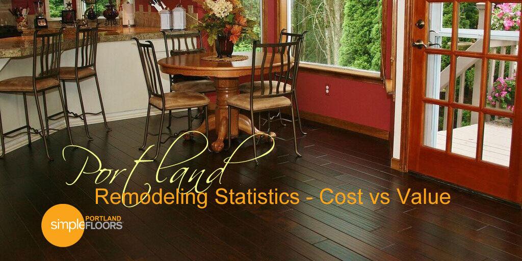portland remodeling statistics cost vs value