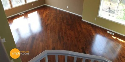 arpeggio Hardwood Floor Living Room TopView