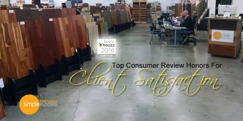 Top Consumer Review Honors For Flooring Client Satisfaction