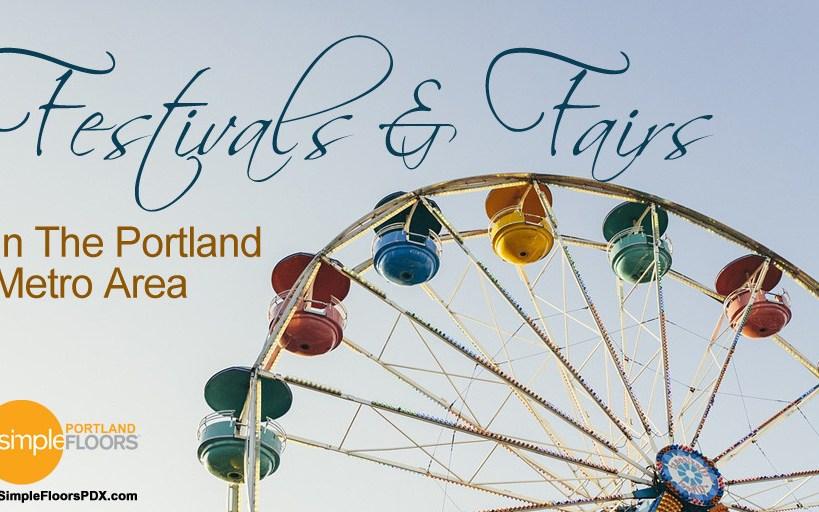 Festivals And Fairs In The Portland Metro Area