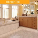Border Tile bathroom tile trend