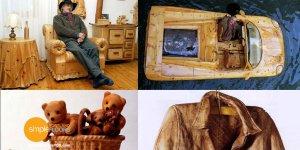 Livio De Marchi world famous custom woodworking